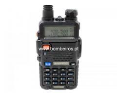 RADIOS MOD.5R DUAL BAND UHF/VHF DE 5 WATTS PRETO