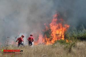incêndio combate