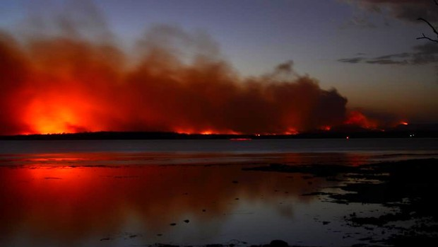AP+fogos+australia
