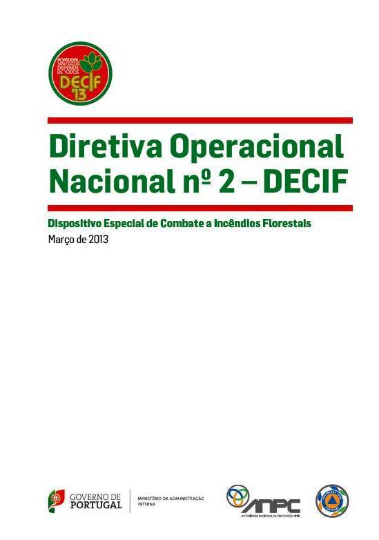 Directiva Operacional Nacional Nº2 – DECIF