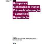 Guia para a Elaboração de Planos Prévios de Intervenção: Conceito e Organização