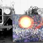 Bombeiros de Gouveia leiloam quadro oferecido pelo conterrâneo Miguel Diniz