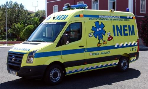inem tip ambulancia