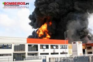 Fotografia: Arquivo/Bombeiros.pt