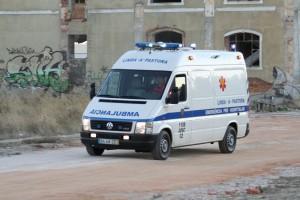 ambulância ilustrativa