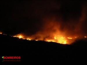 incendio noite
