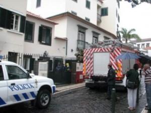 Explosão  Funchal