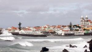 mau tempo Açores