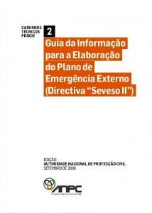 CTP2 Guia da Informação para a Elaboração do Plano de Emergência Externo (Directiva Seveso II)