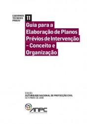 CTP11 Guia para a Elaboracao de Planos Previos de Intervencao Conceito e Organizacao