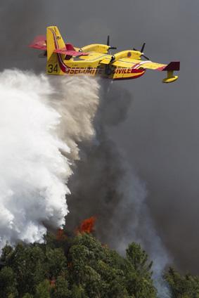 Incêndio junto á Marina da Lixa-Covelo Gondomar/Porto