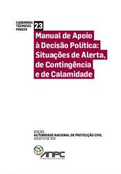 CT23 Manual de apoio a decisao politica - Situacoes de alerta de contingencia e de calamidade