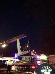 avião autoestrada nova iorque