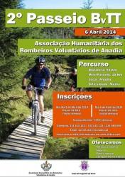 BOMBEIROS VOLUNTÁRIOS DE ANADIA PROMOVEM 2.º PASSEIO DE BVTT(2)