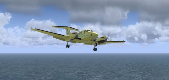 avião ambulância noruega