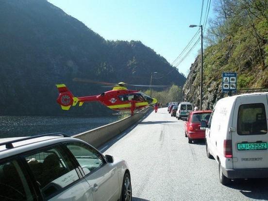 ambulância aérea noruega