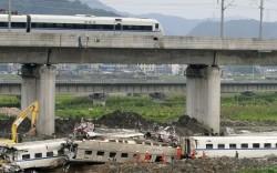 acidente de trem-bala