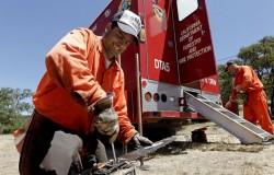 Presos preparam as ferramentas (Foto: SFGATE)