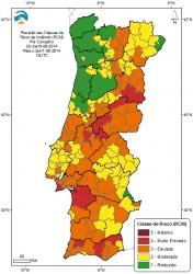 risco de incêndio dia 11 de agosto 2014
