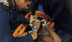 Solano Salazar foi salvo pela guarda-costeira
