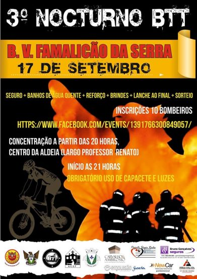 btt bombeiros famalicão da serra