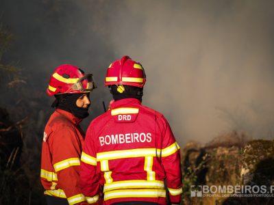 Incêndio em Castelo de Paiva em fase de rescaldo