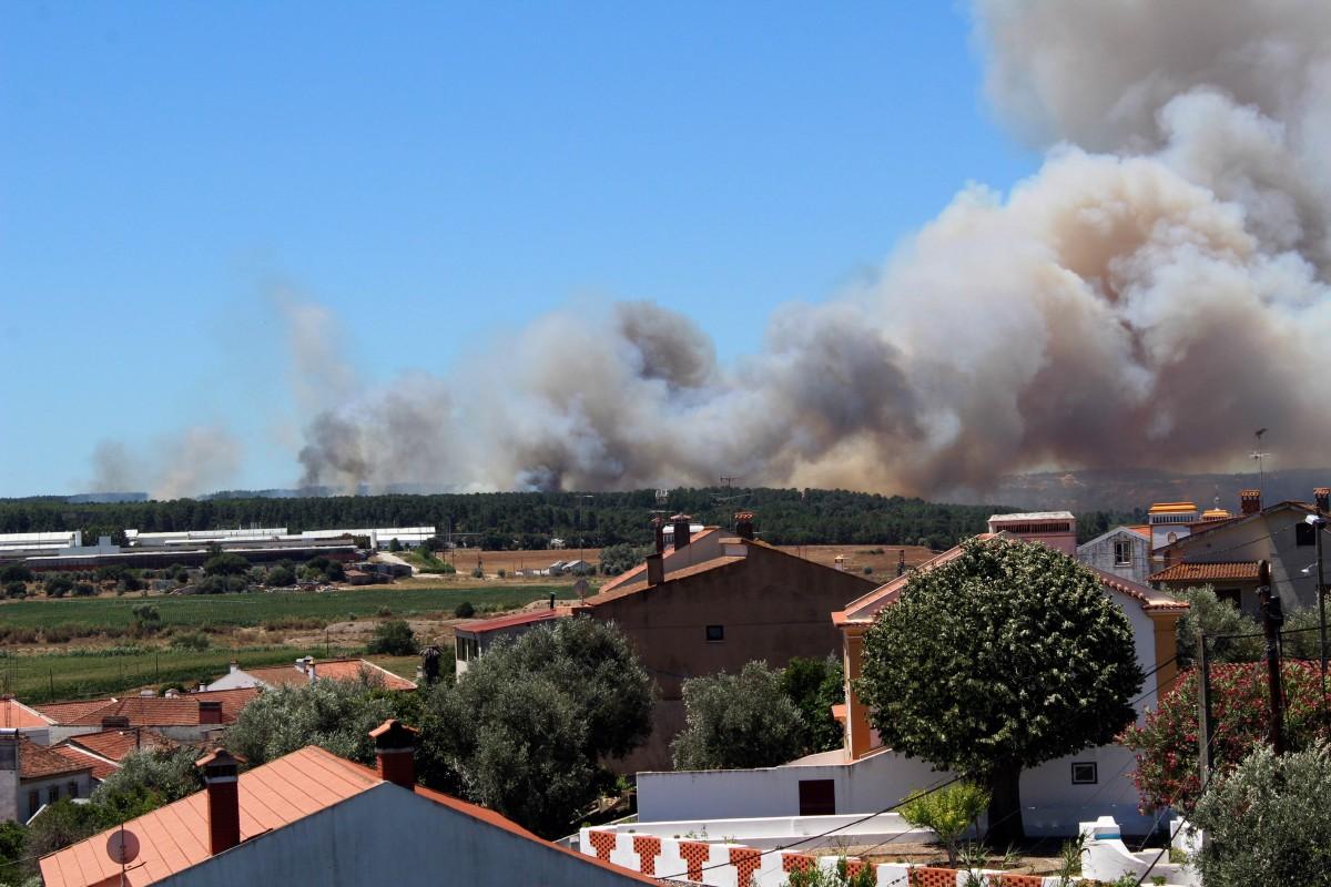 Incêndios em Abrantes e Tomar com vários feridos