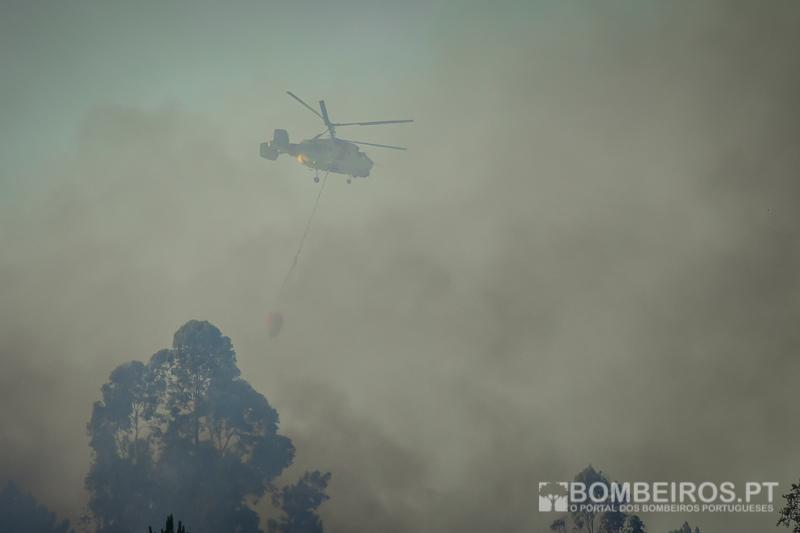 Quatro incêndios ativos no país. Fogo em Abrantes de grande complexidade