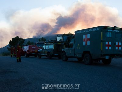Incêndio em Porto de Mós é o que mais preocupa autoridades