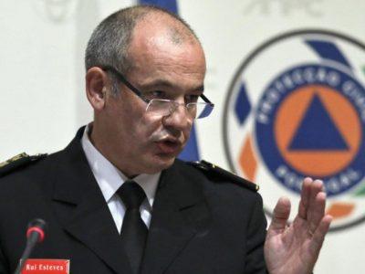 Rui Esteves demitiu-se do cargo de comandante nacional — Proteção Civil